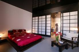 Japanese Low Bed Frame Bedroom Exciting Image Of Feng Shui Bedroom Decoration Using
