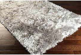 Modern Shag Rug Light Gray Shag Rug Mambo Shag Rug From The Shag Rugs Collection