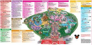 parks map disneyland theme parks disneyland park california adventure