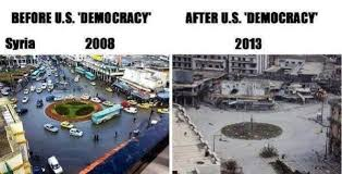 syria before and after before the us nato sponsored dirty war syria was an oasis of
