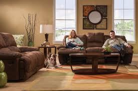 valeri microfiber reclining sofa