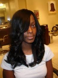 layered weave styles popular long hairstyle idea