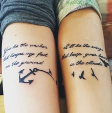 Transformation Tattoo Ideas 50 Delicate Best Friend Tattoos U2013 Good Looking Together And Apart