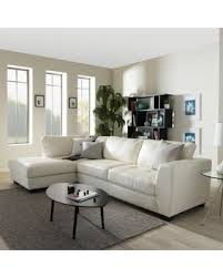 left facing chaise sectional sofa memorial day sale maison rouge orland white leather modern