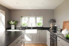 peindre une cuisine en gris peinture cuisine gris perle de conception