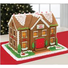 the personalized gingerbread estate hammacher schlemmer