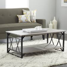 coffee table frame reclaimed style grey coffee table with double u0027x u0027 frame free
