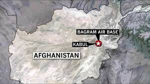 bagram air base map attack kills at least 4 at bagram airfield in