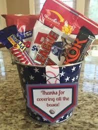 baseball gift basket baseball coach thank you gift league coach gift pinteres