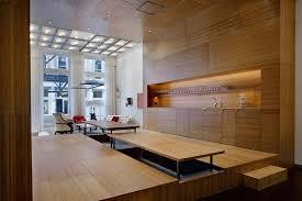 wood interior design modern wood interior design white street loft in new york