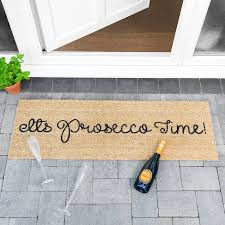 Patio Door Mat Its Prosecco Time Patio Door Mat By Letteroom