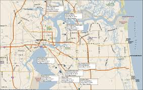 Map Of Jacksonville Florida by Tulsa Welding