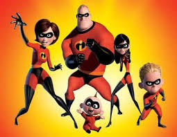 list incredibles characters