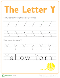 practice tracing the letter y writing worksheets worksheets and