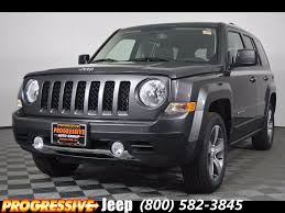 2017 jeep patriot new 2017 jeep patriot high altitude sport utility in massillon
