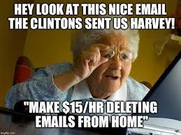 Make Online Meme - grandma s first online job imgflip