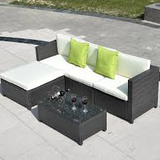 metal patio furniture set gym equipment outdoor furniture set pe wicker rattan sectional