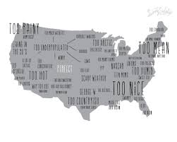 Colorado On The Us Map by Usa Stereotypes Map Funny Colorado Is Perfect In By