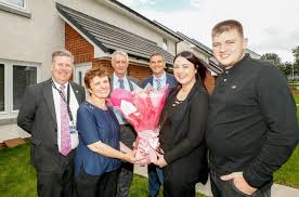 residents receive keys to first phase of 12m fife housing project