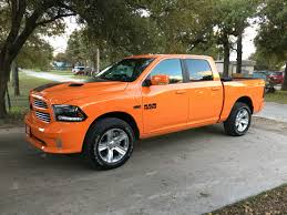 Ram Dakota 2015 My Brothers 2015 Ram Sport In Ignition Orange Automotive World