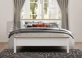 Richmond Bed Frame Birlea Richmond 4ft6 White Wooden Bed Frame By Birlea