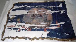 Deleware Flag Travels With Charlie Civil War Battle Flag At Delaware Historical