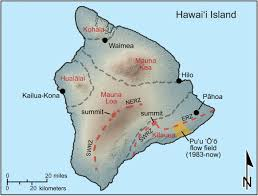 Hawaii Lava Flow Map Operational Thermal Remote Sensing And Lava Flow Monitoring At The