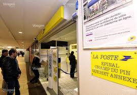 le bureau de poste le plus proche edition d epinal vosges en images la manifestation contre la