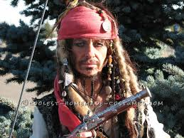 how to create a captain jack sparrow pirate costume homemade captain jack sparrow costume where s the rum