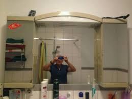 badezimmer hängeschrank mit spiegel alibert badezimmer hängeschrank schrank mit spiegel in nordrhein