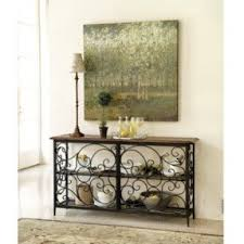 Wrought Iron Console Table Wrought Iron Foyer Table Foter