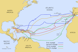 Virgin America Route Map Voyages Of Christopher Columbus Wikipedia
