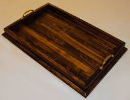 Wooden Serving Trays For Ottomans by Furniture Appealing Large Serving Tray For Ottoman Cool Large