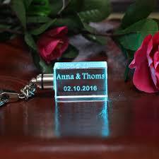 personalized keychain party favors aliexpress buy 10 pcs personalized wedding key chain