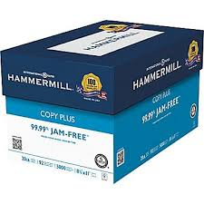 paper ream box hammermill copy plus copy paper 8 1 2 x 11 staples