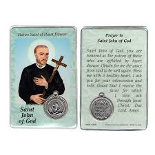 prayer card of god prayer card with medal