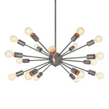 18 Light Starburst Chandelier Sputnik Collection Mid Century Chandeliers Ideas U0026 Inspiration