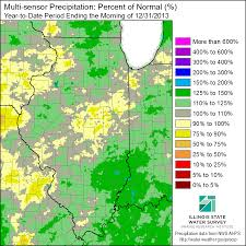 Illinois State Map Weather Review Of 2013 In Illinois Illinois State Climatologist