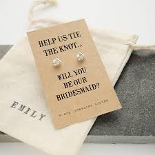 asking bridesmaid gifts ways to ask will you be my bridesmaid hitched co uk