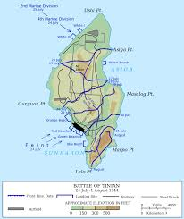 Goo Map File Map Of The Battle Of Tinian 1944 Svg Wikipedia