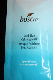 bosica cool blue calming mask paint me pretty