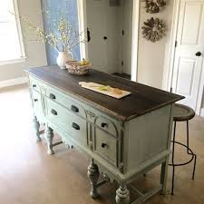 buffet kitchen island best 25 dresser kitchen island ideas on dresser