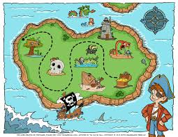 World Treasure Map by Free Pirate Treasure Maps And Party Favors For A Pirate Birthday
