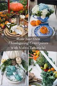 Easy Centerpieces Make Your Own Thanksgiving Centerpieces With Video Tutorial
