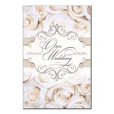 blank wedding programs blank wedding program 6361 pack of 250 wedding programs fast