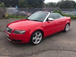 audi s4 4 2 v8 quattro automatic convertible red 2005 in