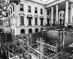 Jackie Kennedy White House Restoration The White House Is Mostly A Reconstruction Of The Original Smart