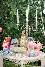 Alice In Wonderland Decoration Ideas Kara U0027s Party Ideas Alice In Wonderland Birthday Party Kara U0027s