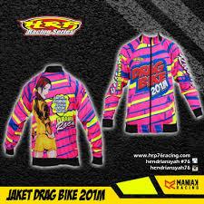 desain jaket racing jaket drag bike racing hrp hendriansyah racing product