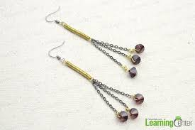 earrings ideas diy coiled bead earrings simple jewelry